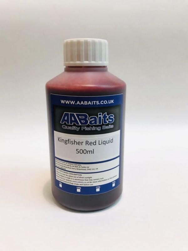 Kingfisher red liquid