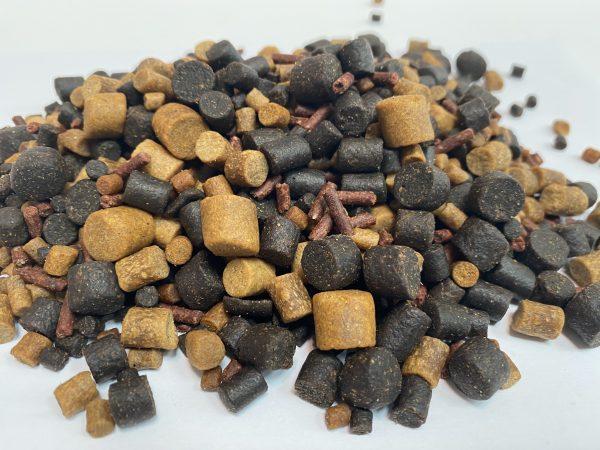 medium mixed pellets
